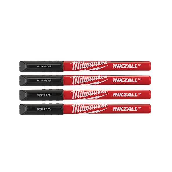 INKZALL™ Black Ultra Fine Point Pens (4 Pk)