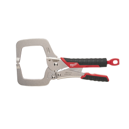 "279mm (11"") TORQUE LOCK™ C-Clamp Locking Pliers Regular Jaws w/ Durable Grip"