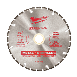 "125mm (5"") SteelHead™ Diamond Cut-Off Blade"