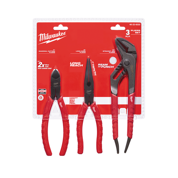 3Pc Pliers Set