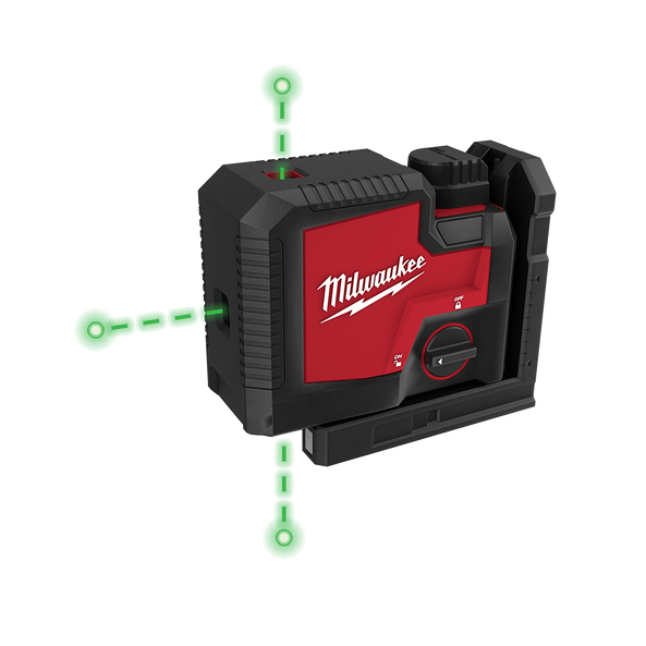 REDLITHIUM™ USB Rechargeable 3 Point Laser Kit, , hi-res