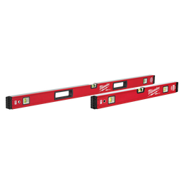 "600mm/1200mm (24""/48"") REDSTICK™ Magnetic Box Level Set"