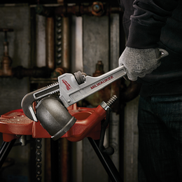 "355mm (14"") Aluminum Pipe Wrench"