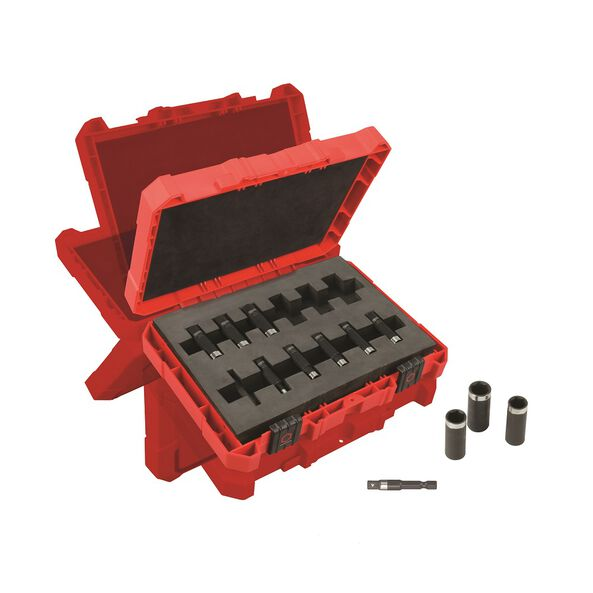 "SHOCKWAVE™ 1/4"" Metric Deep Impact Socket Set 12 Pc"