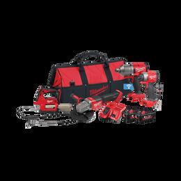 M18 FUEL™ 4 Piece Power Pack 4K2