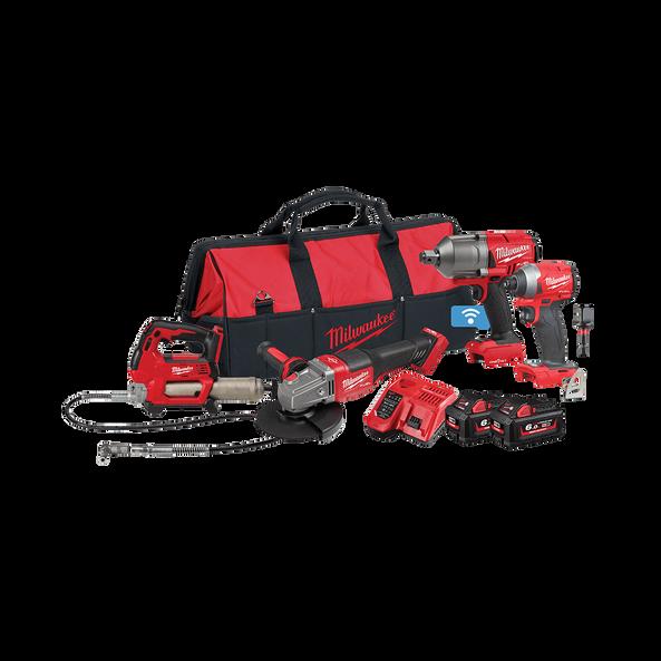 M18 FUEL™ 4 Piece Power Pack 4K2, , hi-res