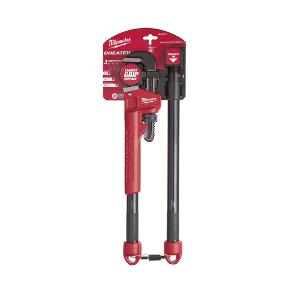 Milwaukee 48227314 Cheater Adaptable Pipe Wrench
