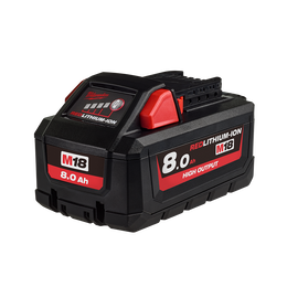 M18™ REDLITHIUM®-ION HIGH OUTPUT 8.0Ah Battery Pack