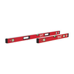 "600mm/1200mm (24""/48"") REDSTICK™ Box Level Set"