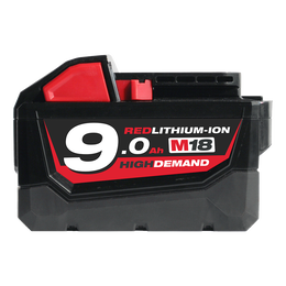 M18™ REDLITHIUM™-ION HIGH DEMAND™ 9.0Ah Battery Pack
