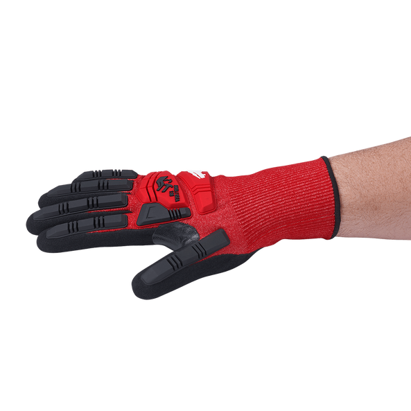 Impact Cut Level 3 Nitrile Dipped Gloves, , hi-res