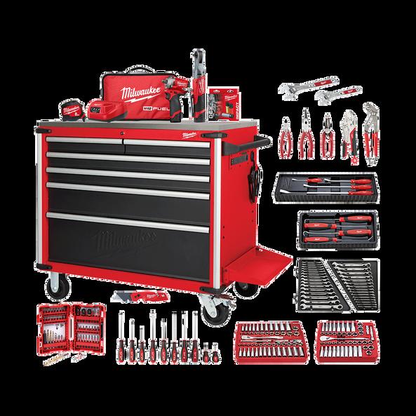 218 Piece Automotive Starter Toolkit A1, , hi-res