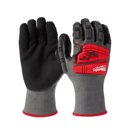Impact Cut Level 5 Nitrile Dipped Gloves