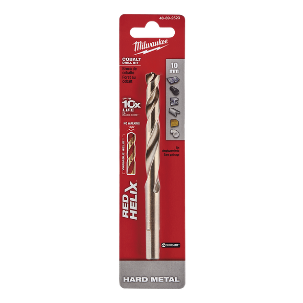 Red Helix™ Cobalt Drill Bit 10mm