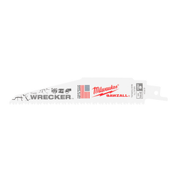150MM 7/11 TPI The WRECKER™ SAWZALL™ Blade (5 PK)