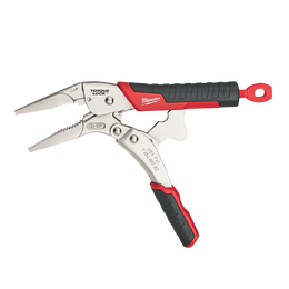 """228mm (9"""") TORQUE LOCK™ Long Nose Locking Pliers with Durable Grip"""