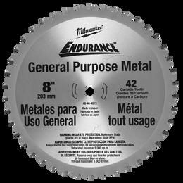 "203mm (8"") 42T General Purpose Metal Blade"