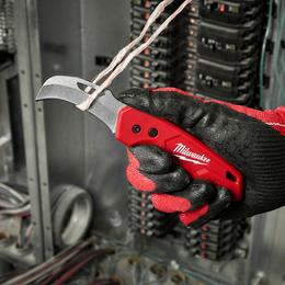 FASTBACK™  Hawkbill Folding Flip Knife