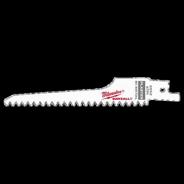 "5"" 6 TPI Plaster SAWZALL™ Blades (5 Pk)"