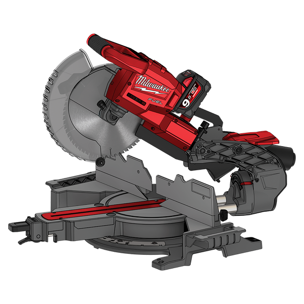 """M18 FUEL™ 254mm (10"""") Duel Bevel Sliding Compound Mitre Saw (Tool only)"""