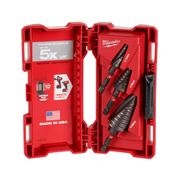 SHOCKWAVE™ Metric Step Bit Set