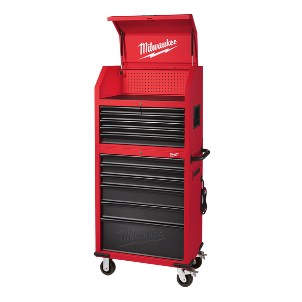 """30"""" Rolling Steel Storage Chest and Cabinet"""