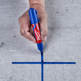 INKZALL™ Blue Large Chisel Tip Marker