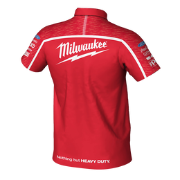 2019 Milwaukee Racing Red Polo Men's