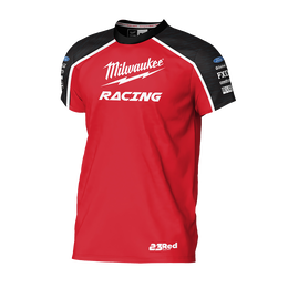 2019 Milwaukee Racing Black/Red Tee Men's