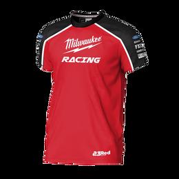 2019 Milwaukee Racing Black/Red Tee Men's