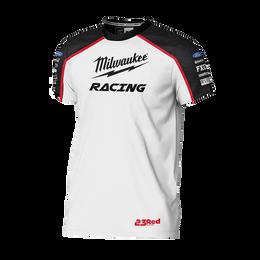 Milwaukee Racing White Tee Men's