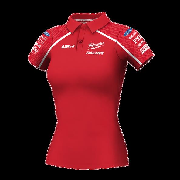 Milwaukee Racing Red Polo Women's, , hi-res